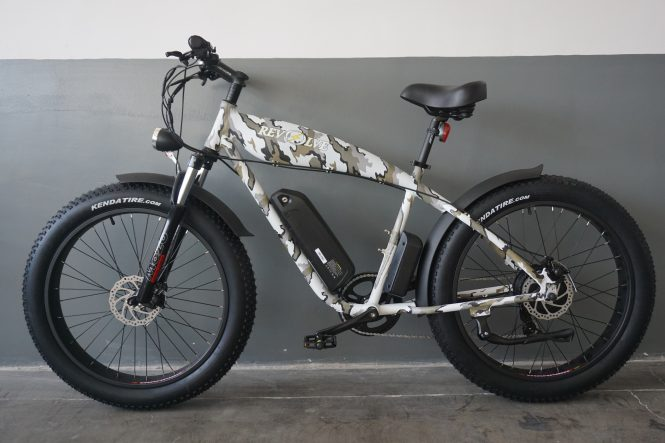 Rough Rider Electric Bike in Camouflage