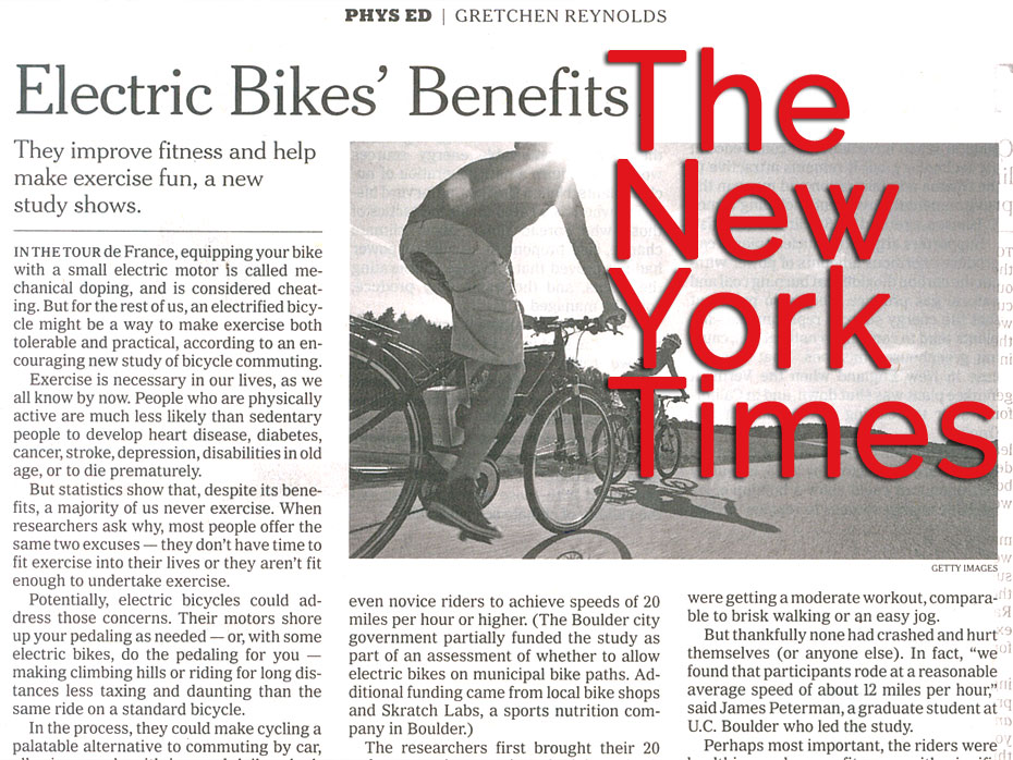 Electric Bikes' Benefits