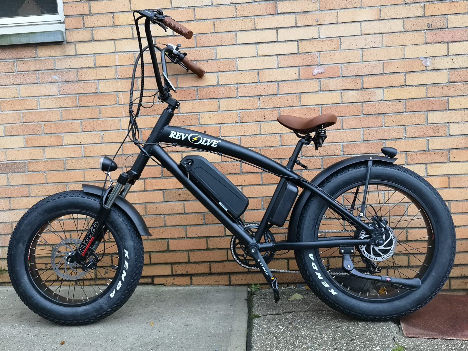 The Chopper Electric Bike